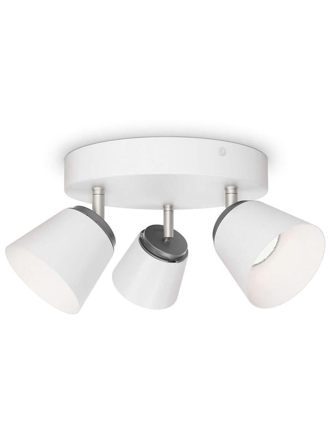 Philips myLiving Dender LED 3 x Spot - Hvid