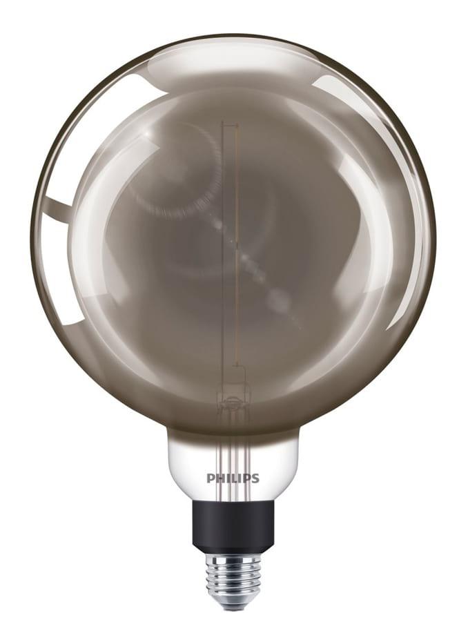 Image of   E27 - Philips Vintage Globe LED - 6.5W (Smoky)