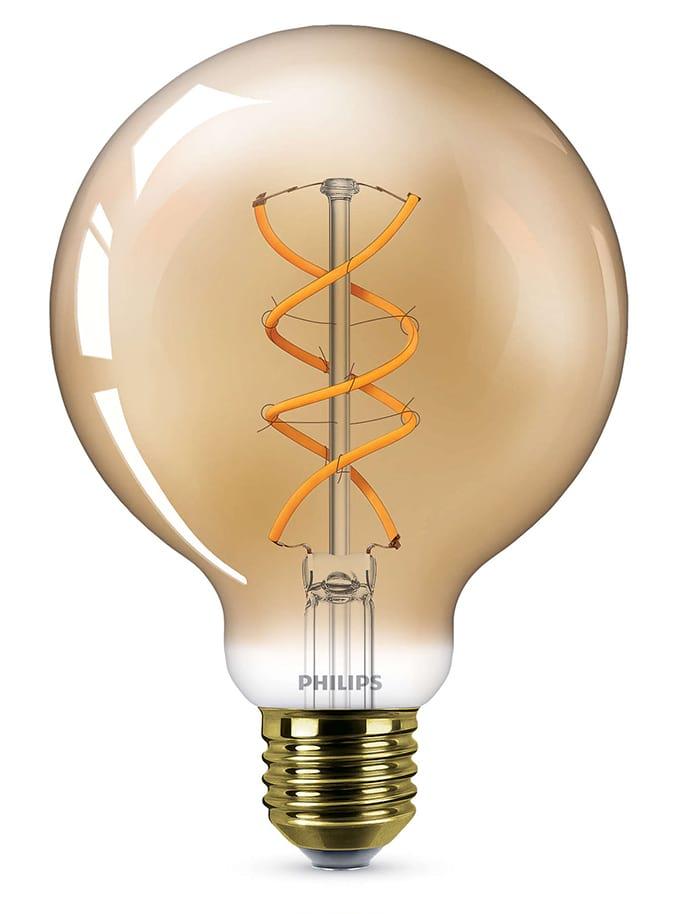 Image of   E27 - Philips Vintage Globe LED - 5W