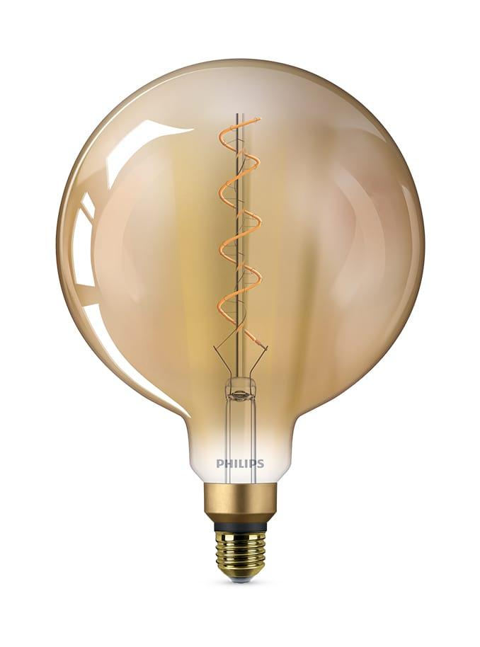 Image of   E27 - Philips Vintage XXL Globe LED - 5W