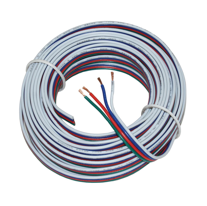 Image of   10m RGB ledning (4 leder)