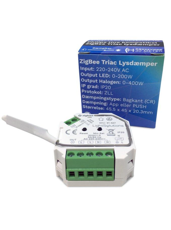 Image of   Mini ZigBee Triac Lysdæmper - 200W